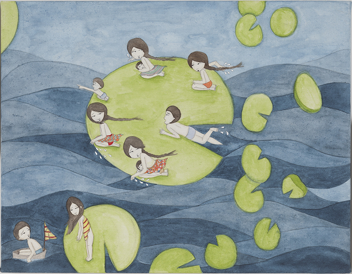 On the Blue Shore of Silence Kyung Jeon