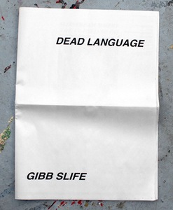 Gibb_slife_-_dead_language