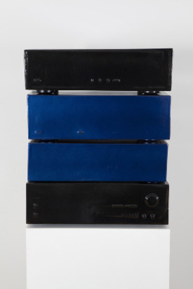 Sean Dack Untitled (Cassette Blue/Black #1), 2012