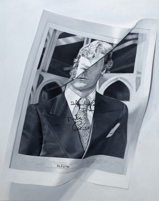 Gibb Slife Untitled (Michael Caine), 2012
