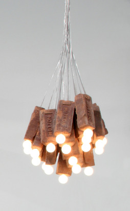 Colby  Bird Brick Lamp. Love, Ignatz., 2012