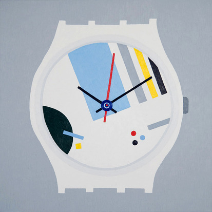 Timothy Hull Constructivist Swatch II, 2011