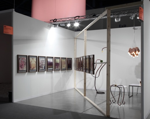 Colby  Bird Solo Presentation at Art Basel Miami Beach, Art Positions, 2012